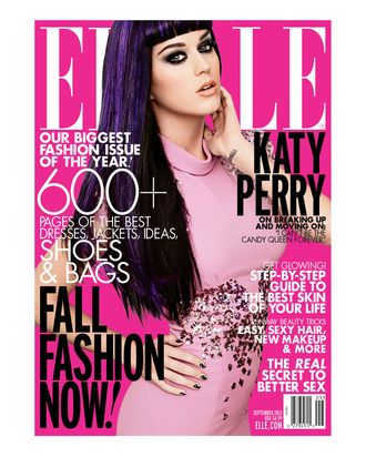 Katy Perry covers Elle.