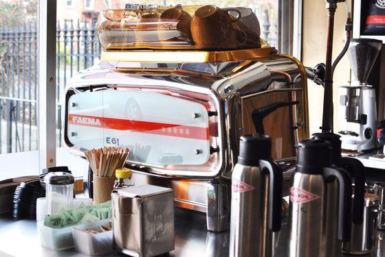 Mainardi uses La Colombe coffee at the shop.