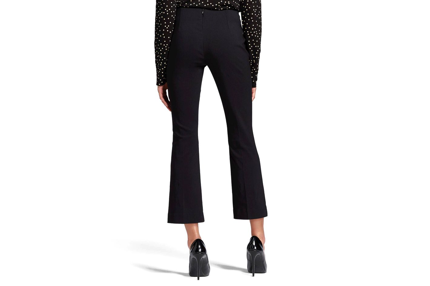 5e0f55d7aa24a Who What Wear Women's Cropped Flair Pants