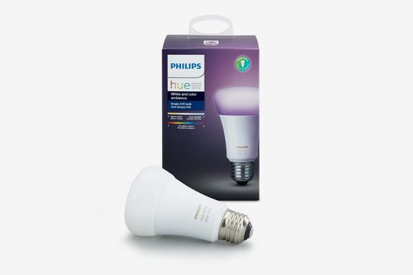 Philips Hue White and Color Ambiance Smart LED Light Bulb
