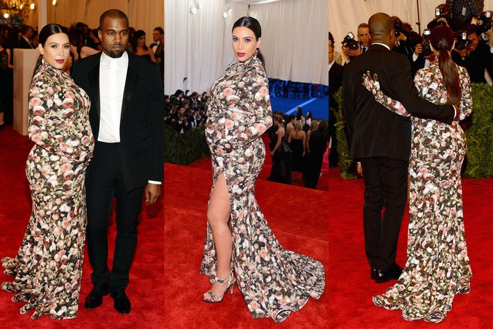 Kim Kardashian in Givenchy.