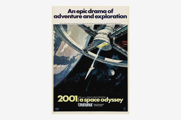 Stanley Kubrick's 2001 : A Space Odyssey A3 Poster