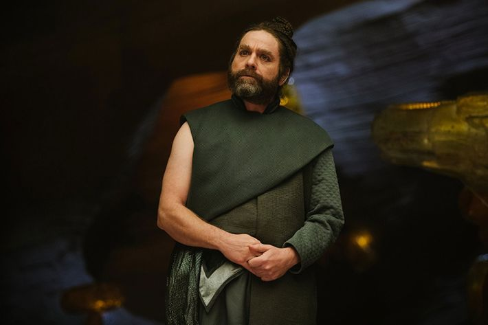 Zach Galifianakis in A Wrinkle in Time.