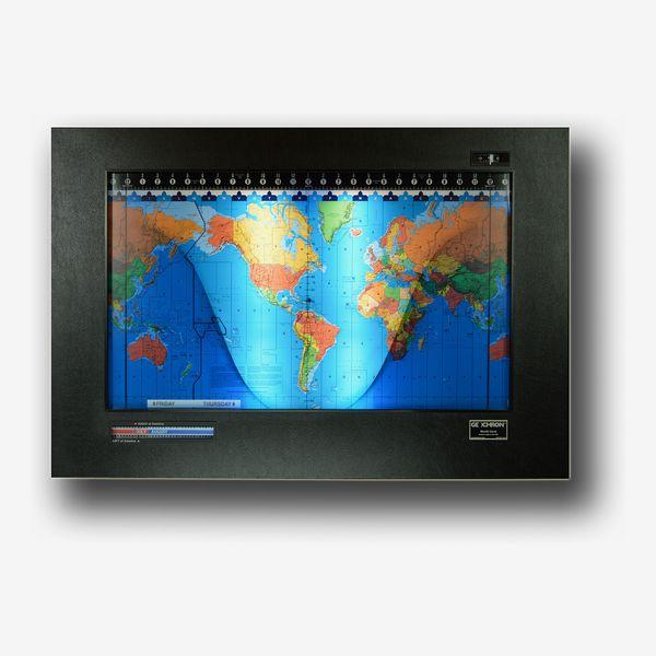 Geochron Kilburg Vinyl World Clock