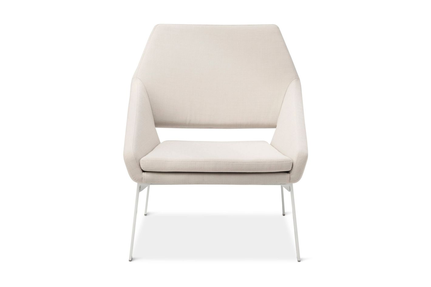 Modern by Dwell Magazine Lounge Chair White/Natural