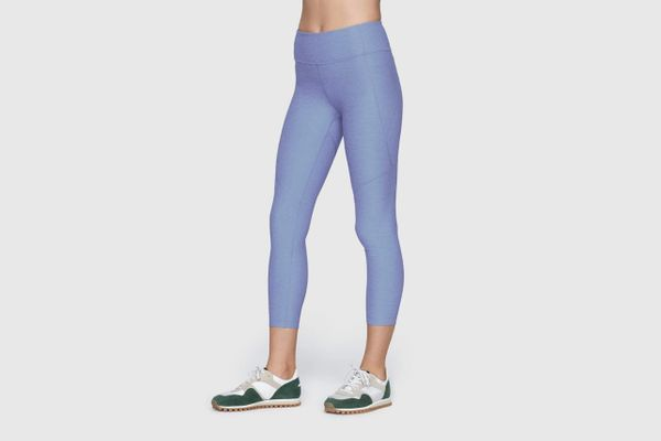 Outdoor Voices 3/4 Warm Up Leggings, Lilac