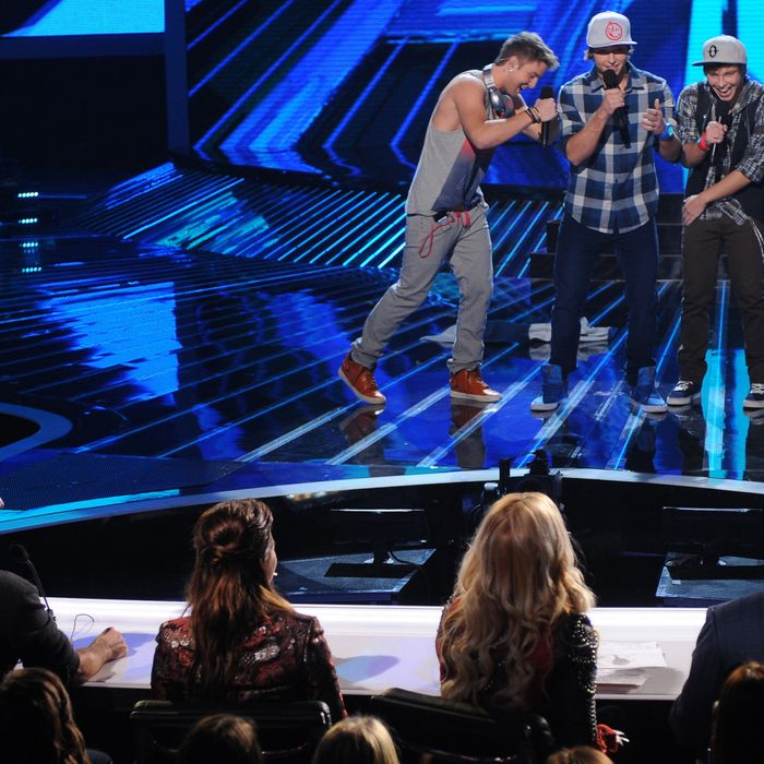 THE X FACTOR: 12 /13 perform: Emblem3 performs live on THE X FACTOR, Wednesday, November 7 (8:00-10:00 PM ET/PT) on FOX.