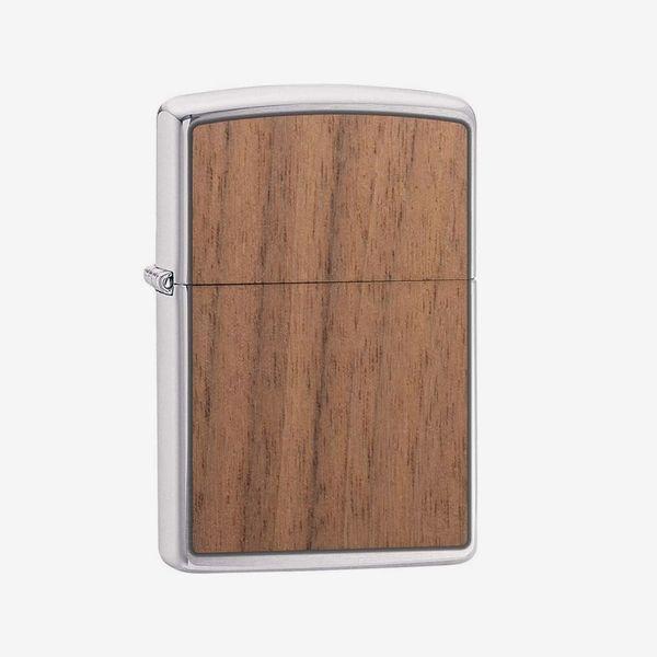 Zippo Woodchuck Lighter, Walnut
