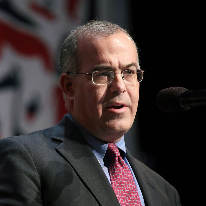 Journalist David Brooks