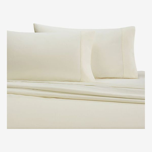 Wamsutta 350-Thread-Count Egyptian Cotton Queen Sheet Set in Ivory