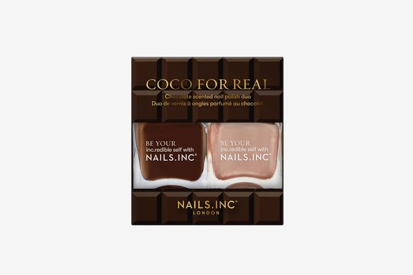 Nails Inc. Coco For Real Nail Polish Duo