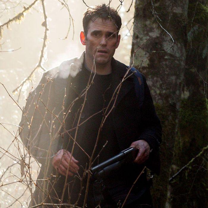 WAYWARD PINES: Ethan (Matt Dillon) ventures out of Wayward Pines in the