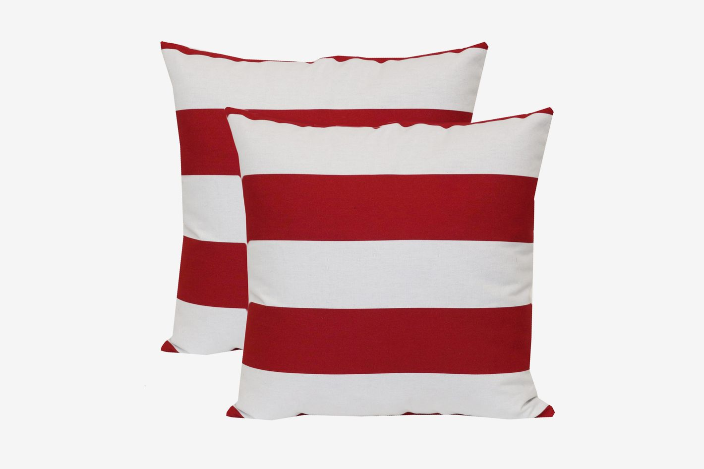 Mainstays Balboa Stripe Outdoor Toss Pillow — Set of 2