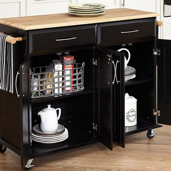 Butcher Block Kitchen Carts And Islands : The 14 Best Butcher-Block Kitchen Islands and Carts ? 2018