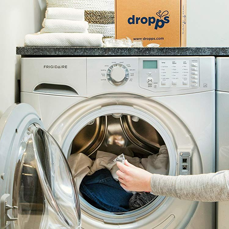 Unscented Dropps Laundry Detergent Pods, 32 Count