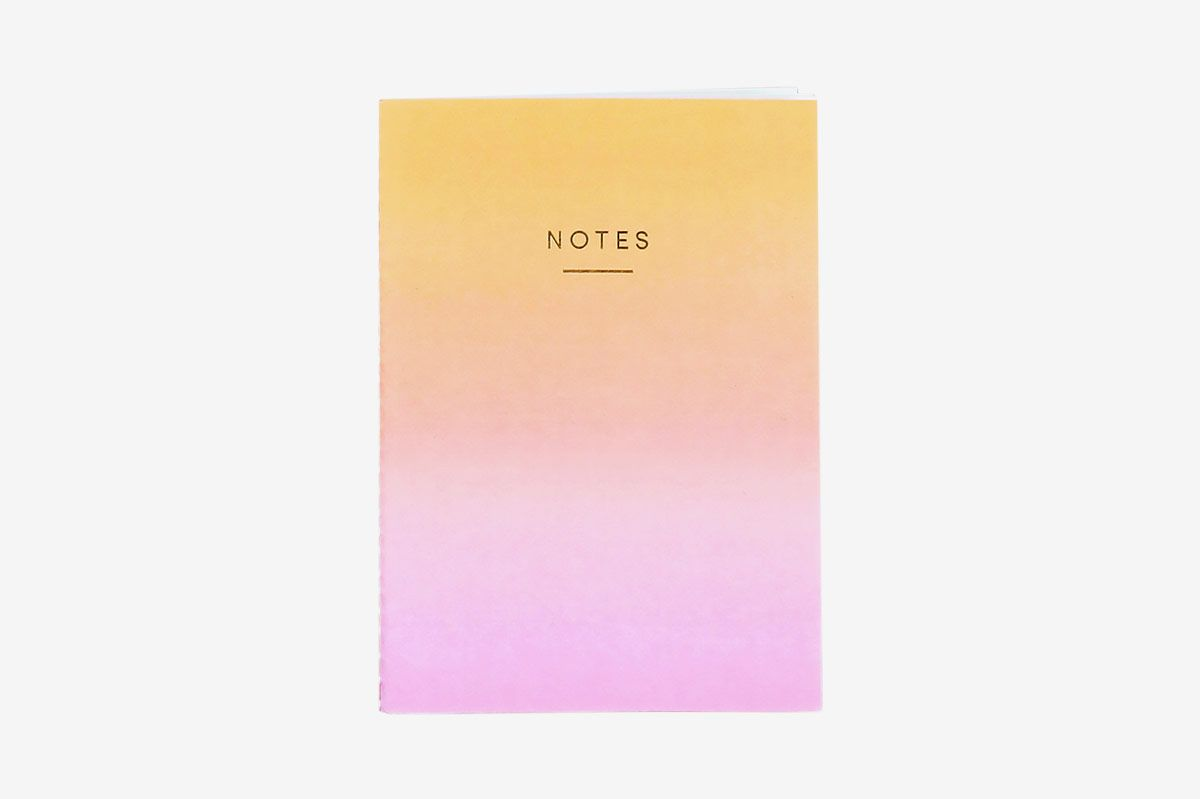 Wrap Magazine Sunset Ombré A5 Notebook