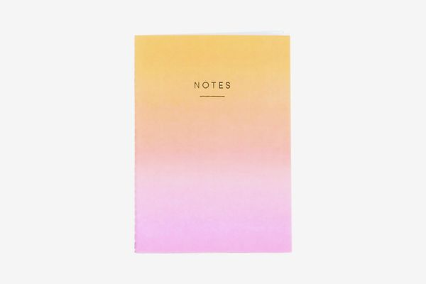 Wrap Magazine Sunset Ombré A5 Notebook