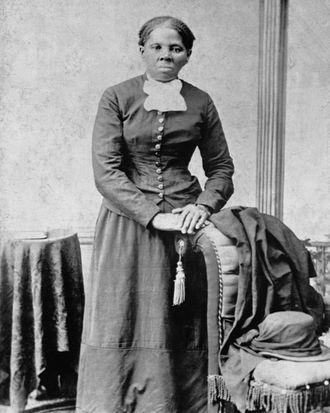 Famed Underground Railroad conductor Harriet Tubman.