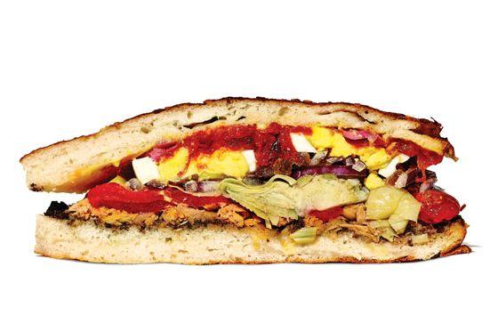BYGGYZ's tuna SOF sandwich.