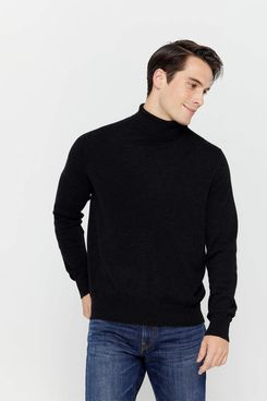 State Men's Turtleneck Cashmere Sweater
