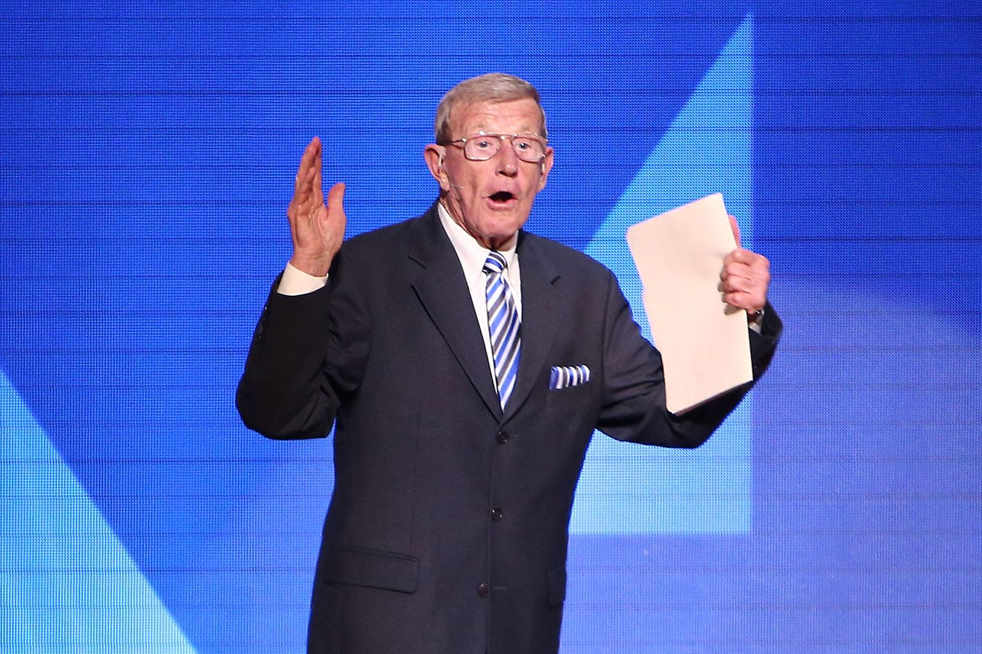 Republican Speaker Lou Holtz to Immigrants: 'I Don't Want to Become You'