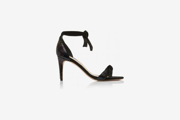 Alexandre Birman Clarita Sequin And Suede Sandals