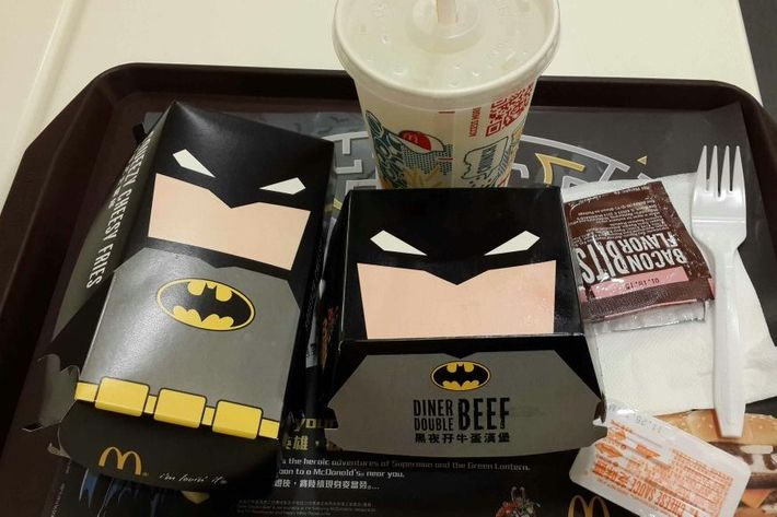 There are Squeezy Cheesy Fries under that utility belt.