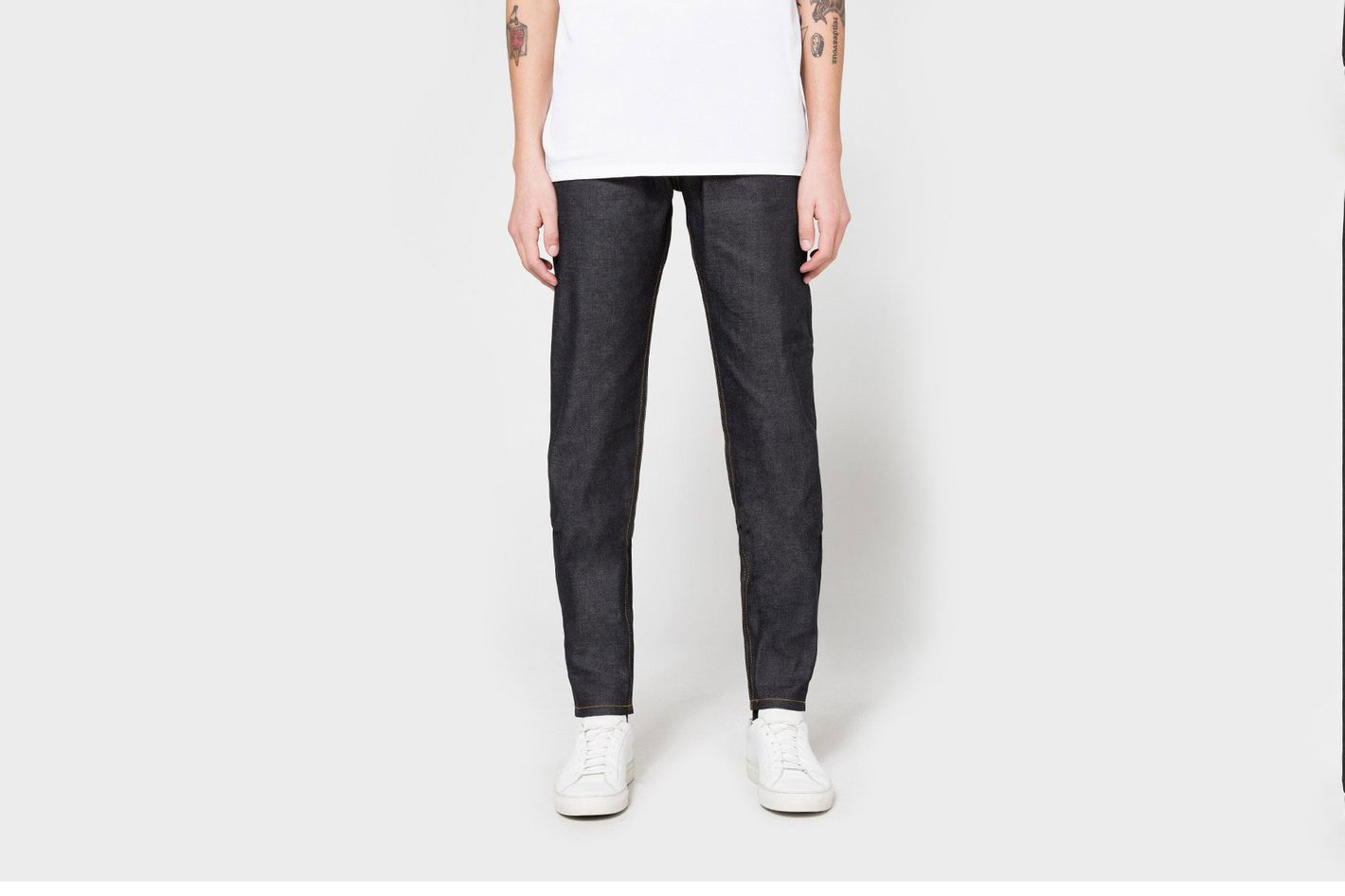 Naked and Famous Easy Guy Featherweight Dungaree Selvedge