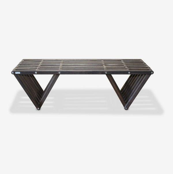 AllModern Darende Wooden Picnic Bench