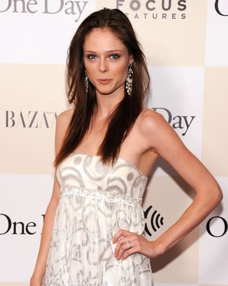 Coco Rocha at the <em>One Day</em> premiere.