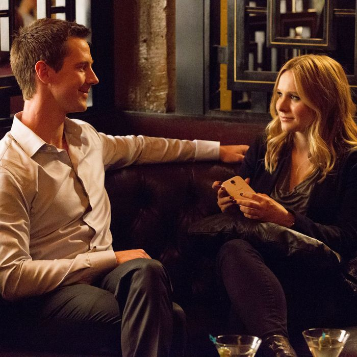 Jason Dohring and Kristen Bell in the Veronica Mars movie.
