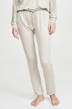 Eberjey Sadie Stripes Slim Pants