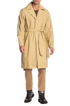 Rains Waterproof Trench Coat (Unisex)