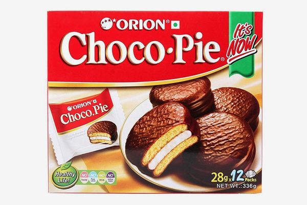 Orion Choco Pie With Marshmallow Cream 24 Packs