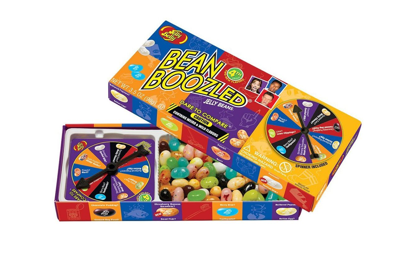 Jelly Belly 4th Edition Beanboozled Jelly Beans Spinner Gift Box