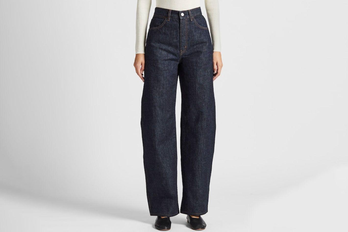 Women U Wide-Fit Curved Jeans