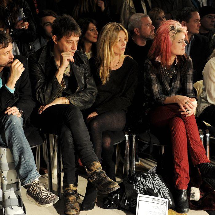 Jamie Hince, looking just as awkward as he feels.