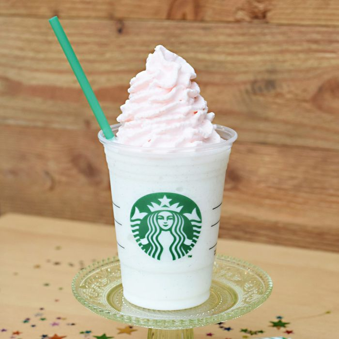 Starbucks Unleashes Birthday Cake Frappuccinos Today