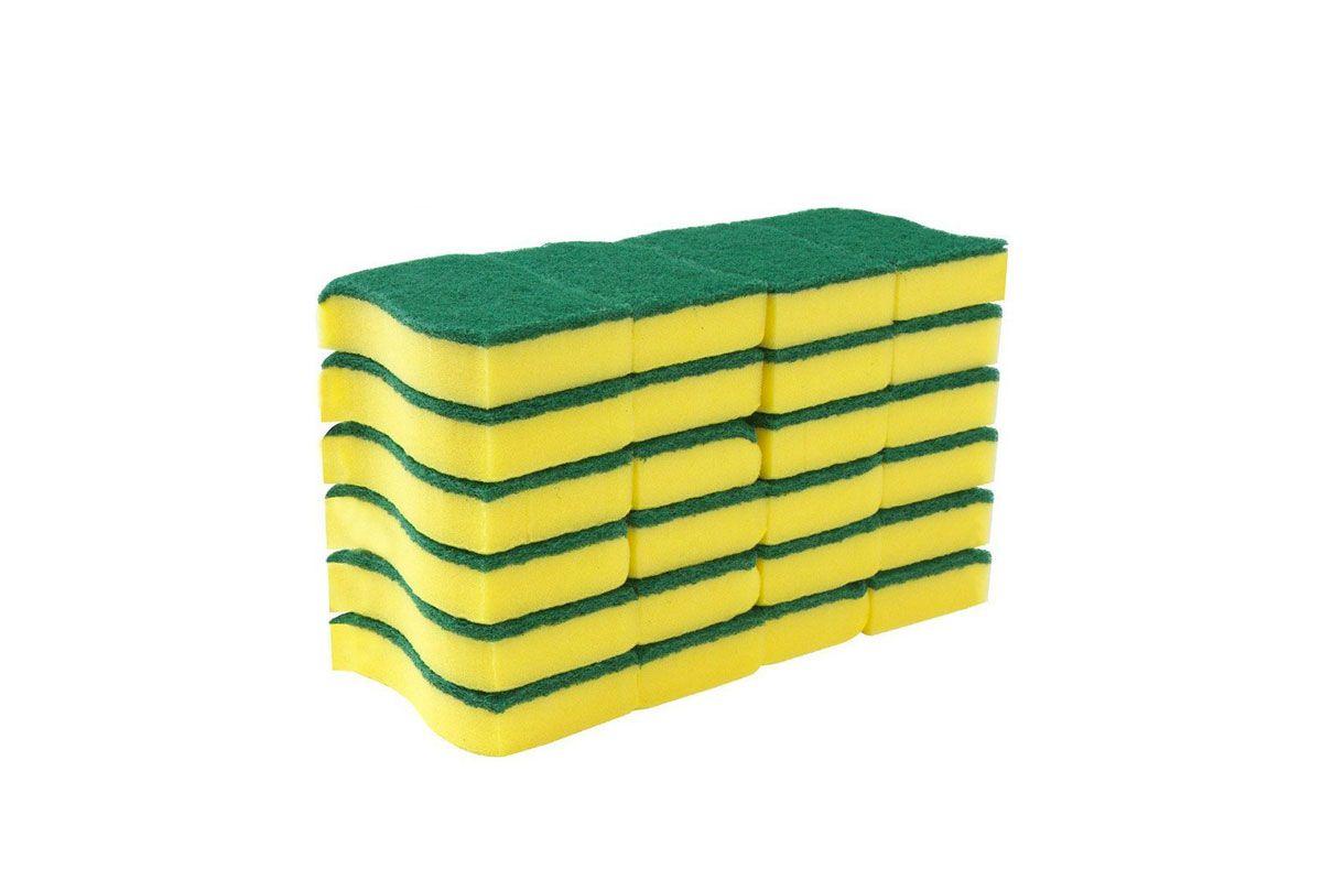 Mr. Siga Heavy Duty Scrub Sponge, 24 Count