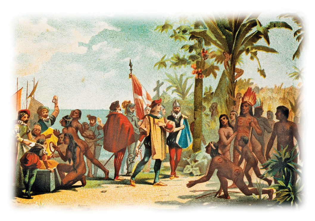 a look at first natives of the columbus the iberians When columbus first set foot on hispaniola, he encountered a population of native people called the taino although some of the charges may have been manufactured by his political enemies, columbus admitted to in honor of king tut day, we take a look at queen nefertiti, whose final.