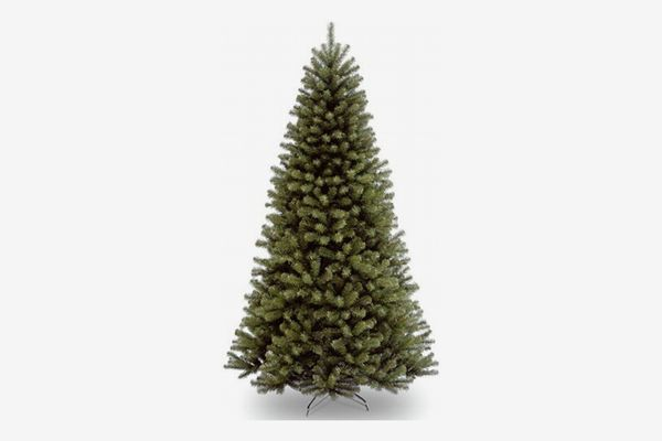 National Tree Company 7.5' North Valley Spruce Hinged Tree