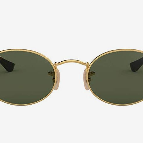 Ray-Ban Rb3547n Flat Lens Oval Sunglasses