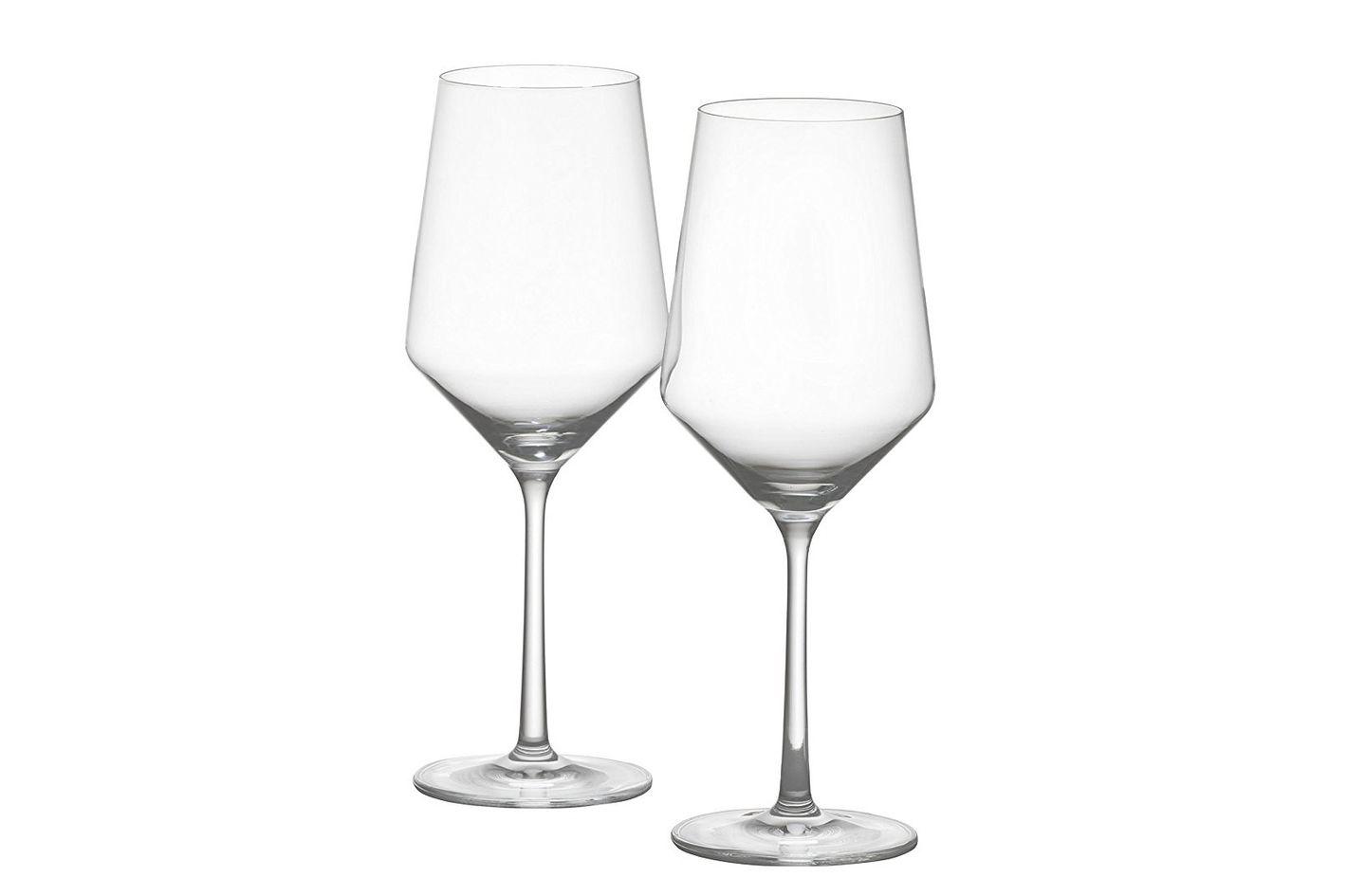 Schott Zwiesel Tritan Crystal Glass Stemware Pure Collection Wine Glass, 18.2-Ounce, Set of 2