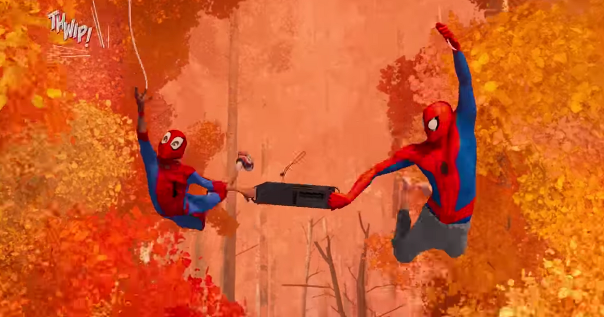 Watch The New Spider Man Into The Spider Verse Trailer