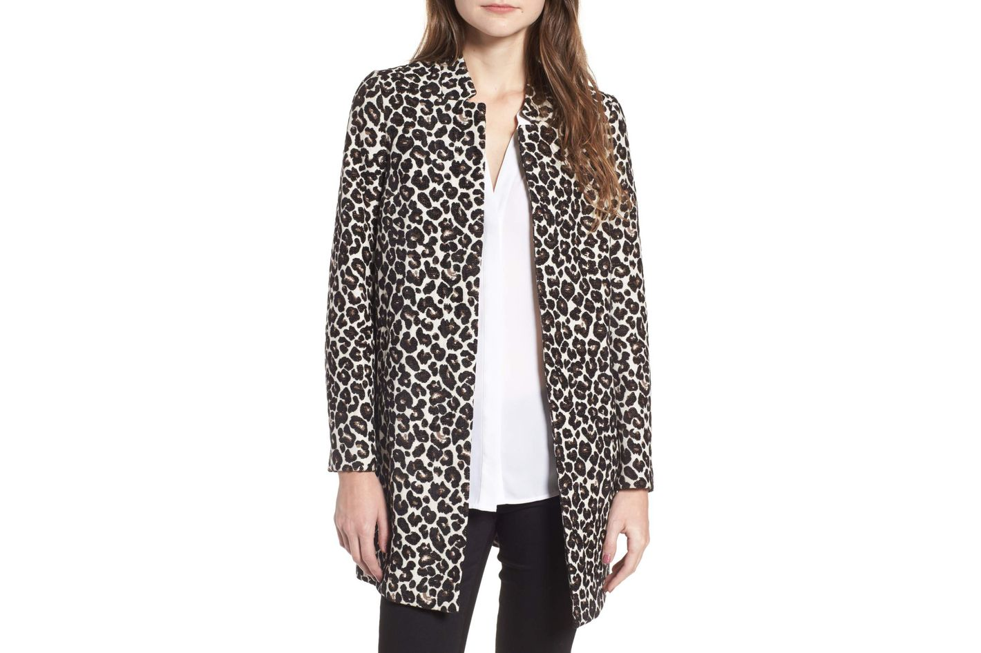 Dorothy Perkins Leopard Print Car Coat