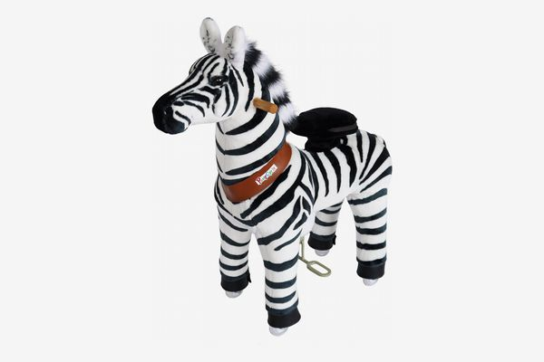 PonyCycle Ride-On Zebra Toy