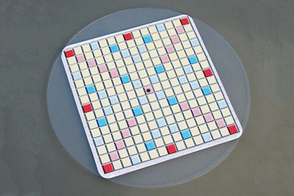 SamBoard Clear Acrylic Scrabble Board