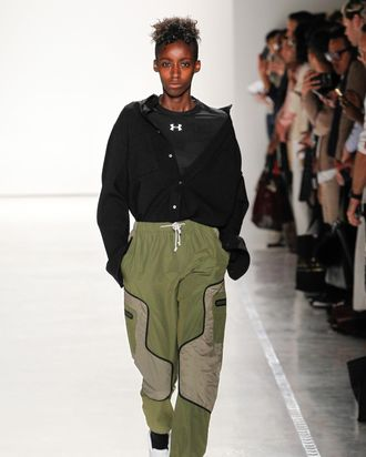 A look from Tim Coppens's collab with Under Armour.