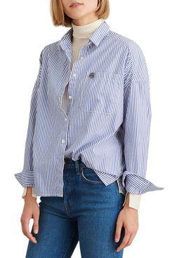 Alex Mill Oversize Stripe Shirt