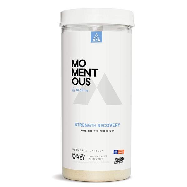 Momentous Strength Recovery Protein Powder, Veracruz Vanilla